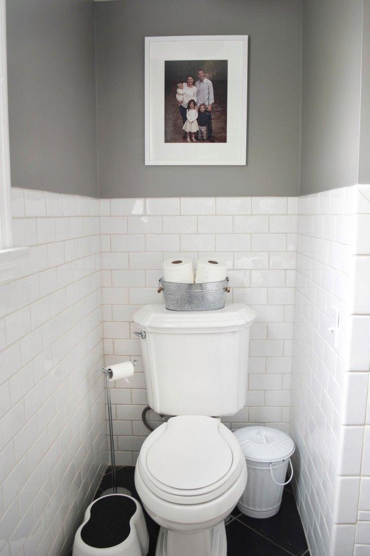 Kids\' Farmhouse Bathroom Reveal with Tom\'s of Maine | Kid bathrooms ...
