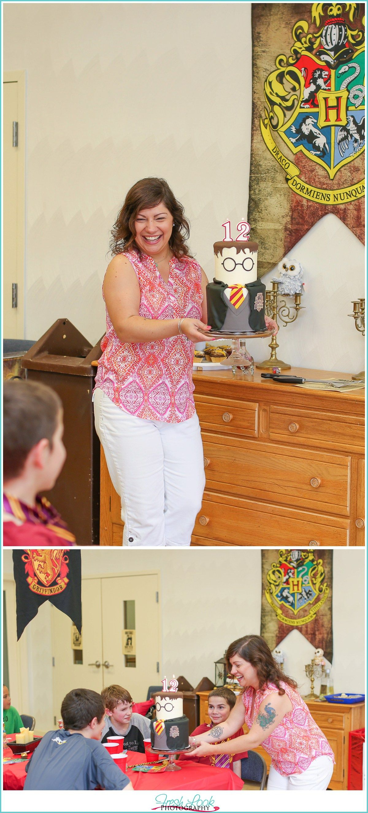 Harry Potter Birthday Party Hogwarts Ideas Themed Gryffindor 12th Virginia Beach