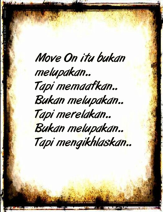 Move On Wise Quotes