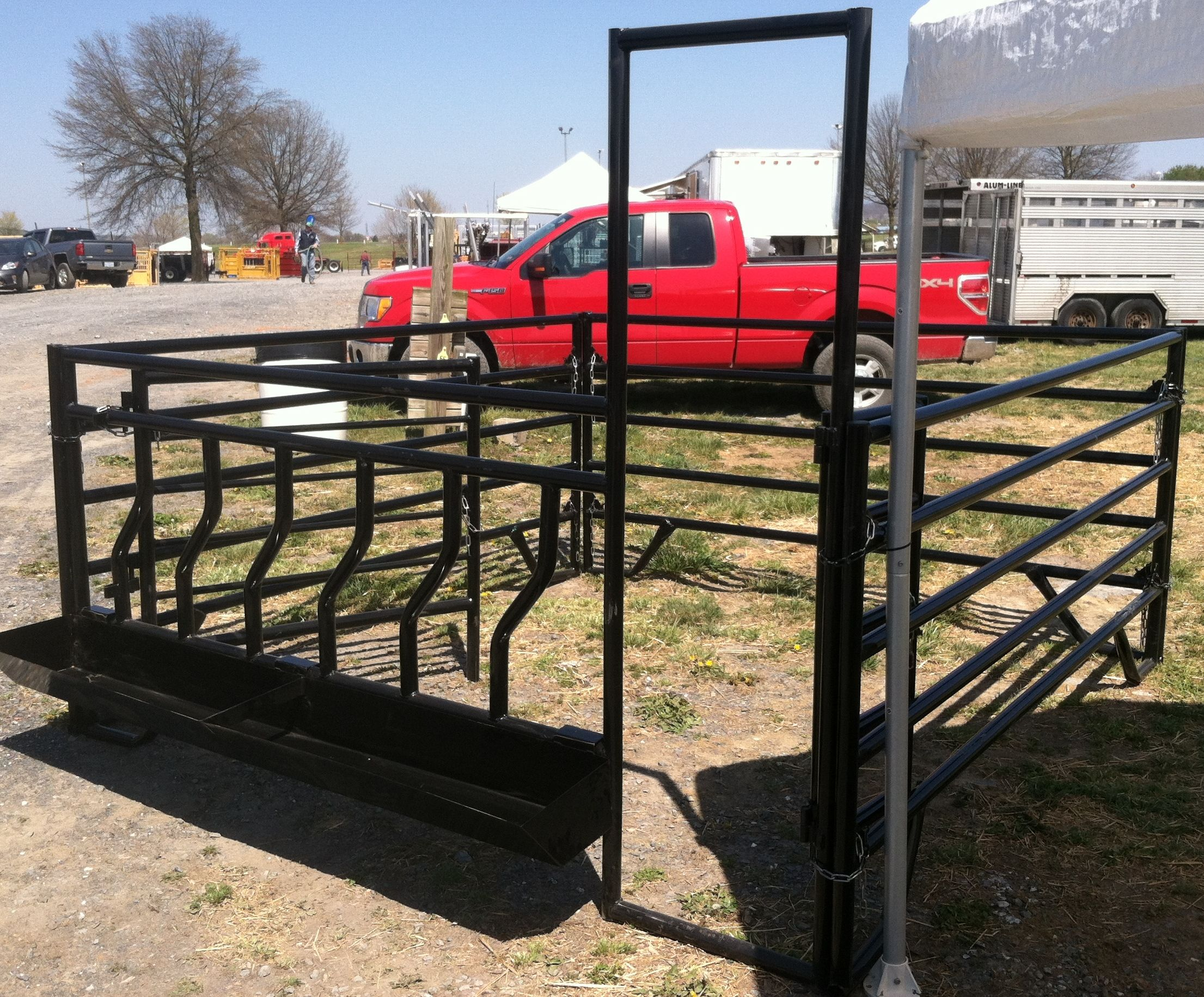 calf tarter feeders creep feeder a corral forums projects calves newly built