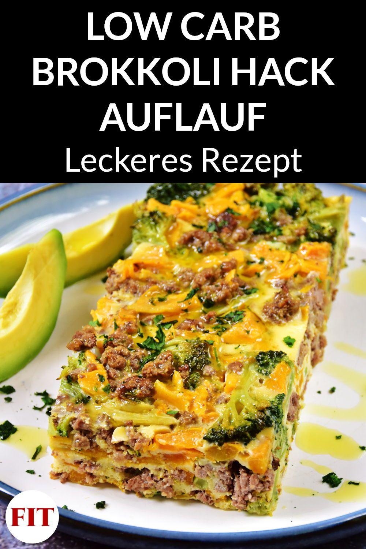 Low Carb Auflauf mit Brokkoli & Hackfleisch - Ketogenes Rezept