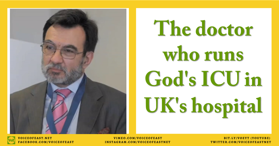 The doctor who runs God's ICU in UK's hospital Medical