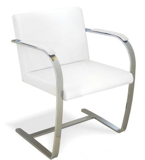 Ludwig Mies Van Der Rohe Brno Chair White Furniture Styles