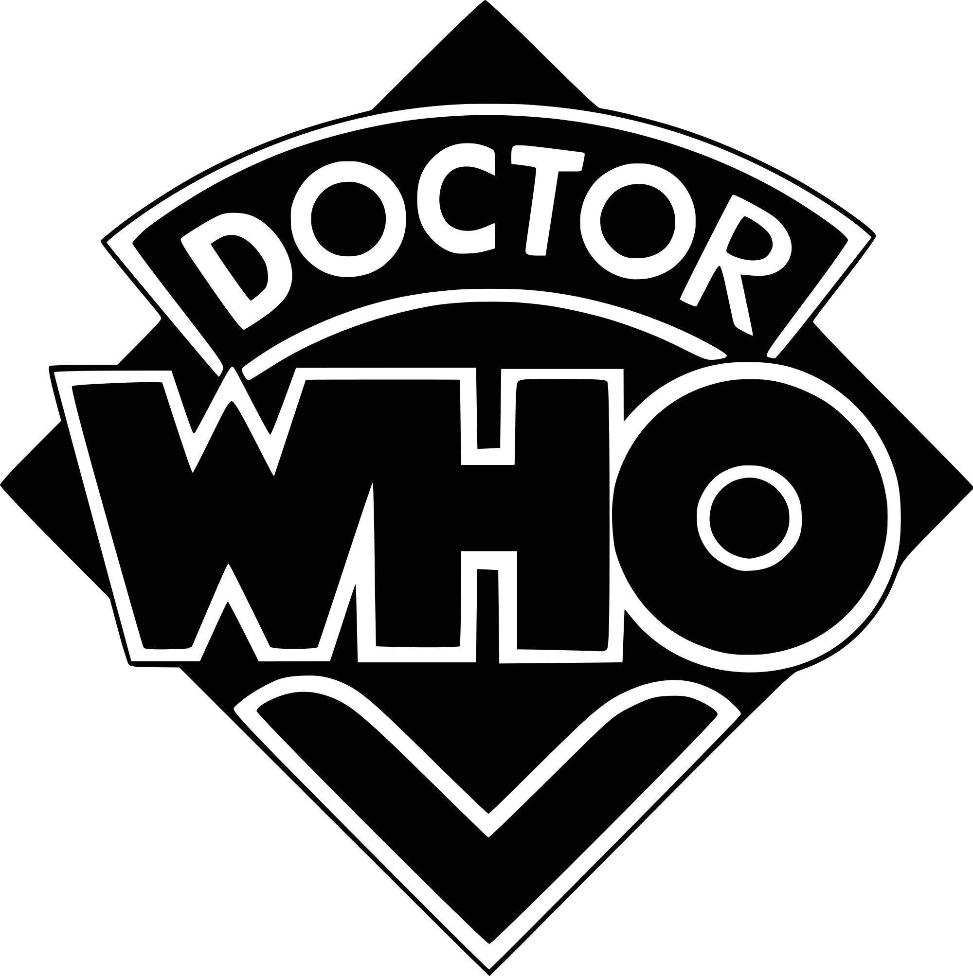 2000px Doctor Who Logo 1973 1980 Svg Png 2 000 2 007 Pixels Vinyl Decal Stickers Diamond Decals Doctor Who Logo