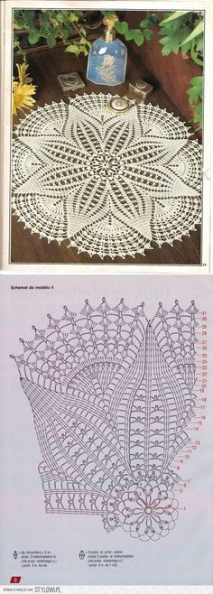 szydełko / serweta na Stylowi.pl | Crochet Patterns | Pinterest ...