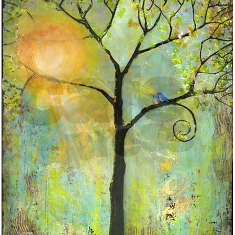 Hello Sunshine Tree Shower Curtain On Cafepress Com 57 99 Could