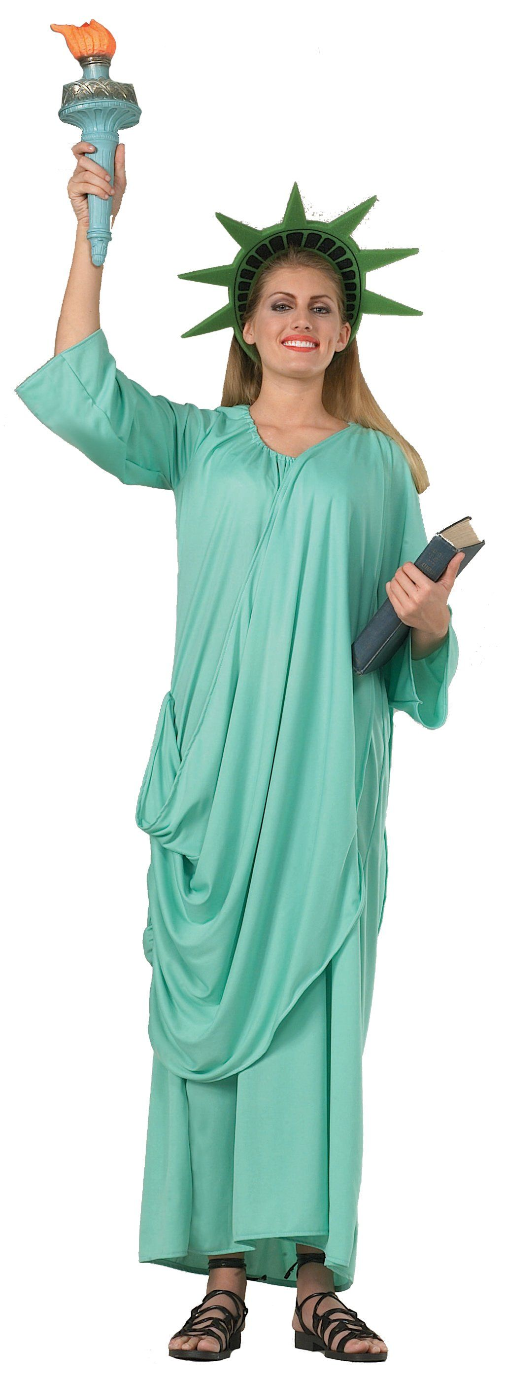 Statue Of Liberty Adult Costume | Costumes, Halloween costumes and ...