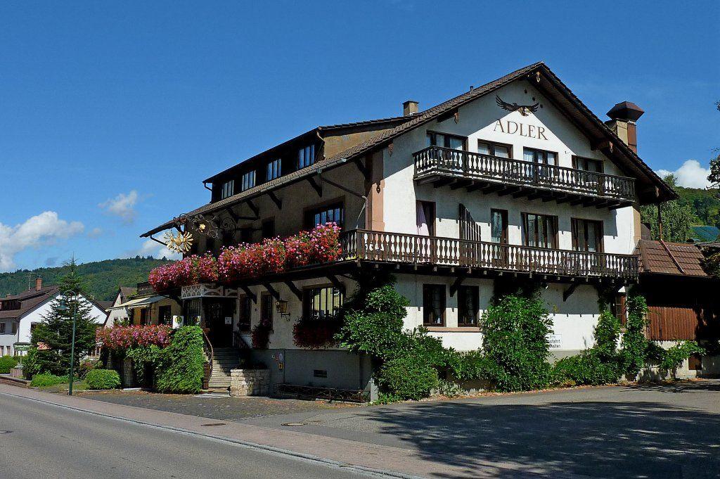 Gasthaus Zum Adler Glottertal Baden Wurttemberg Germany