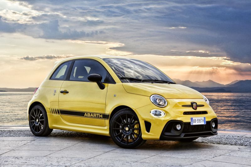 Abarth 595 Competizione 1 4 T Jet 180 Hp Automatic With Images