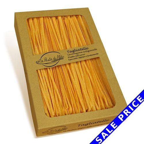 Even the package is pretty! #sale La Pasta di AldoTagliatelle Egg Pasta SALE  Click below
