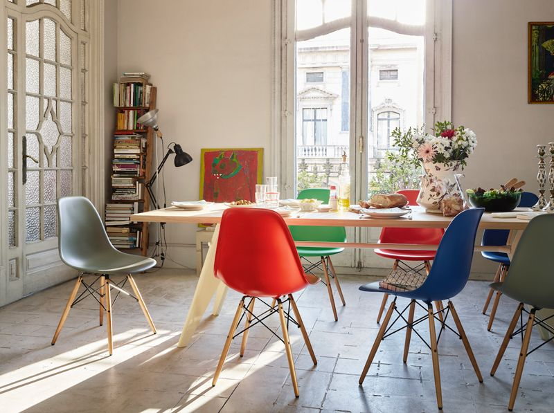 Schön #Eames Plastic Chair Installation At LDF 2017, By Vitra @vitra @vitrahaus @