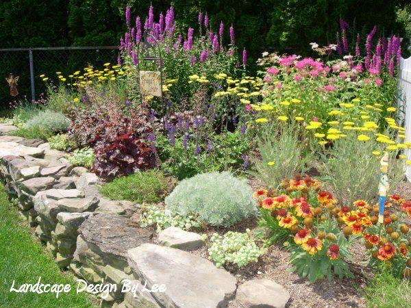 Attrayant Front Idea Small Perennial Garden | ... GARDENING: Thinking Spring Color In  The Garden Part III: Perennials