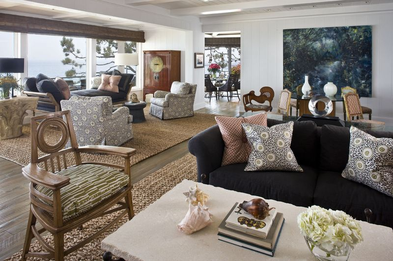 How To Combine Area Rugs In An Open Floor Plan With Images