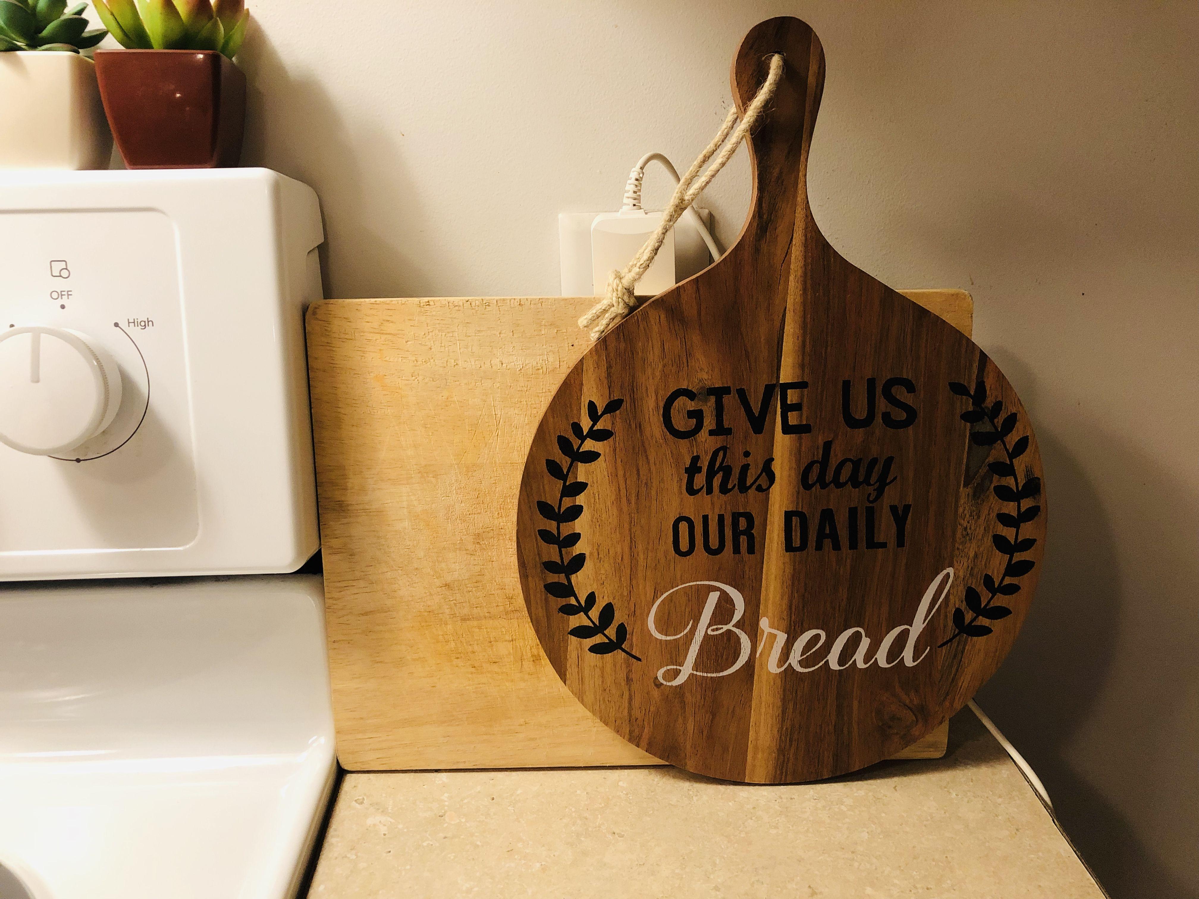 Kitchen decor daily bread our daily bread decor