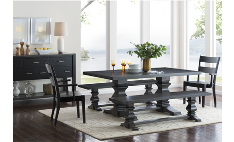 Amercan Made Napa Valley Extension Dining Table
