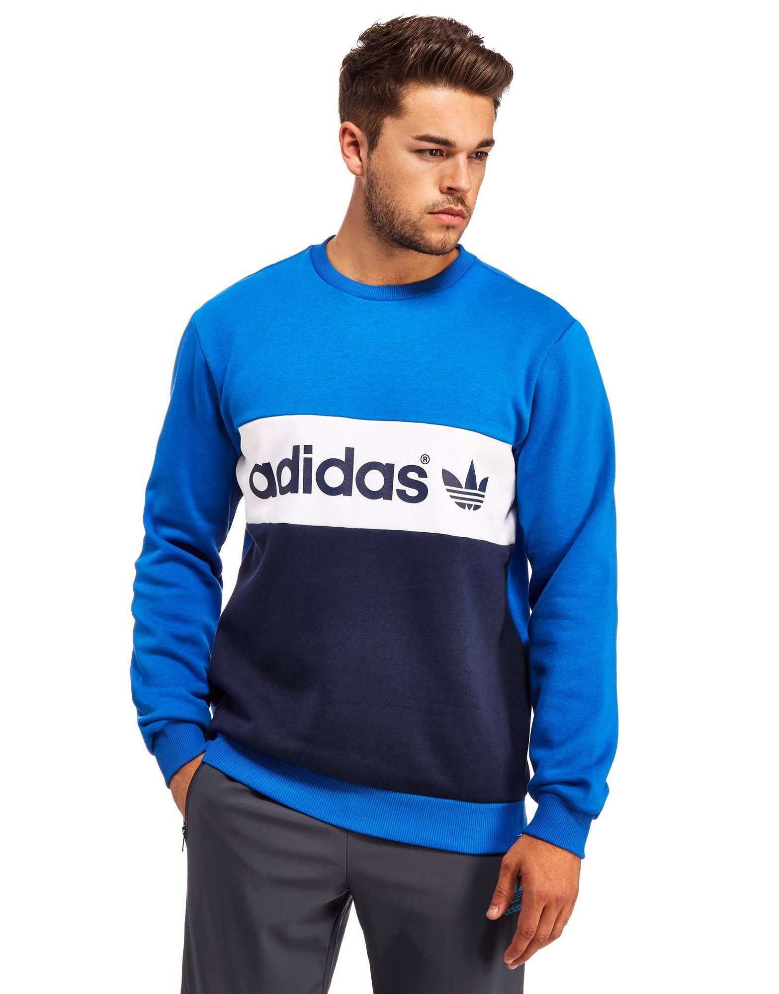 adidas Originals Linear Sweatshirt Shop online for