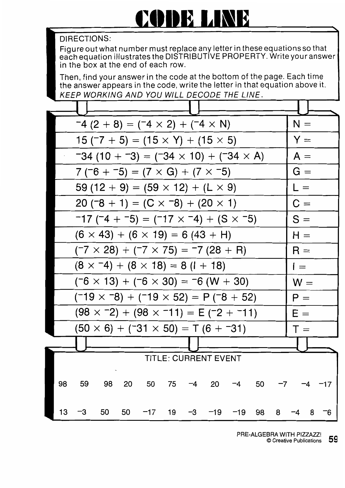 Percentage Composition Worksheet Answer Key