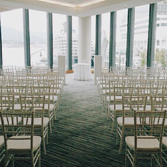 nice vancouver wedding Another wedding weekend at the @fairmontpacific. The Emerald Ballroom has one of the prettiest views in Vancouver. Thanks to momma @c.ungs and papa Unger for helping out.  #vancouverwedding #vancouverwedding