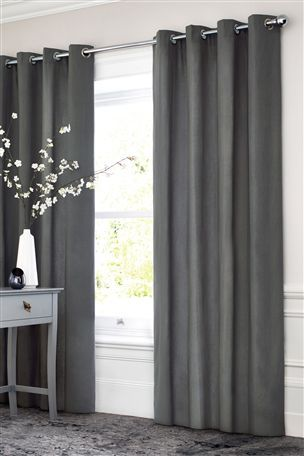 Buy Cotton Eyelet Blackout Curtains Studio Collection By Next From The Next  UK Online Shop