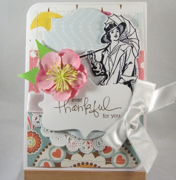 Thankful for You by Cardmaking Addict @Two Peas in a Bucket
