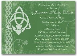 37b6abdad05f I like this claddagh bridal shower invitation. 3044 Irish Bridal Shower  Invitation Ireland Claddagh