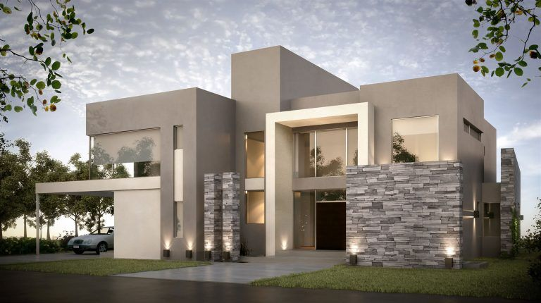Combinaciones De Colores Para Fachadas Que No Pasan De Moda Casas Modernas Fachadas Casas Minimalistas Casas