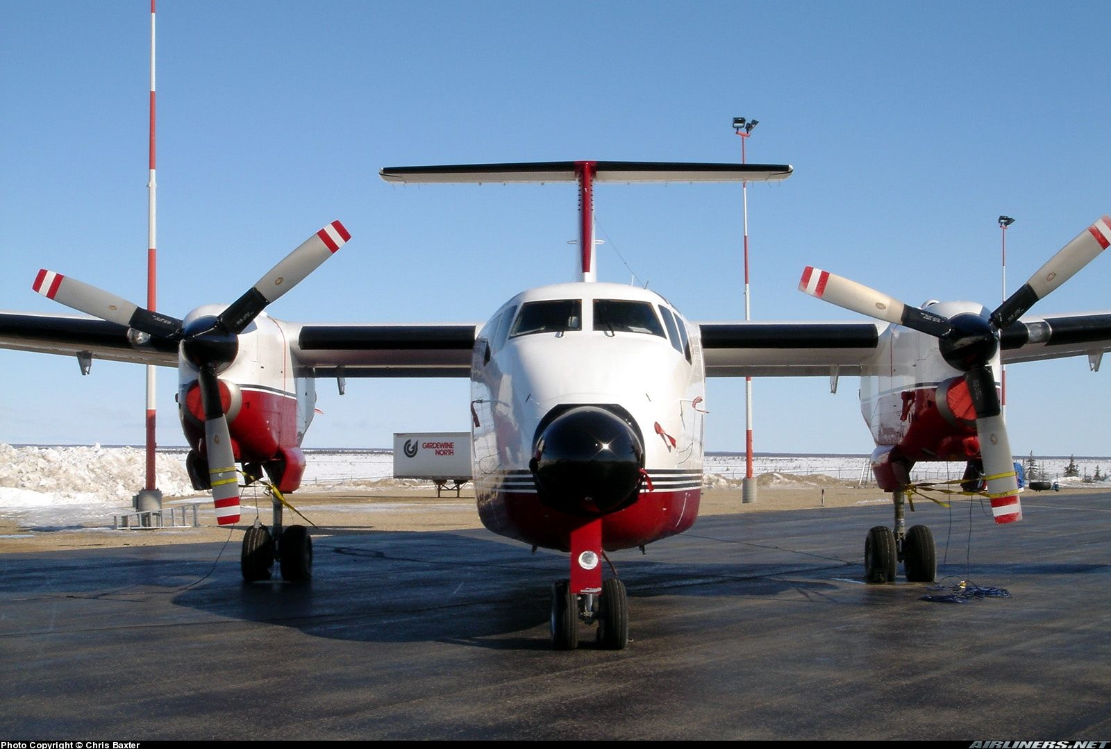 De Havilland Canada DHC5D Buffalo Arctic Sunwest