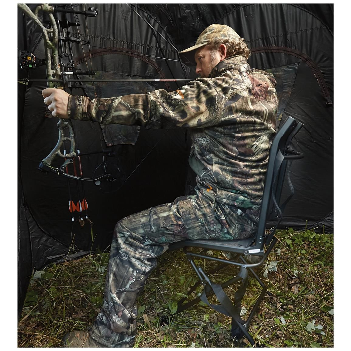attract ground use hunting ideas very to just trick lid stands best cool and the homemade deer remove blinds nail on bow