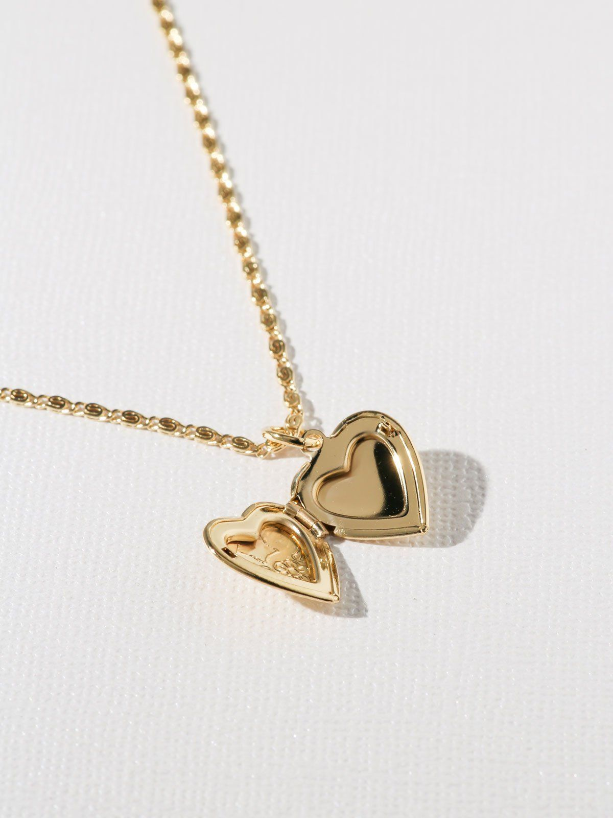 41e6e37401882f The Heart Locket Necklace in 2019 | Jewelry | Heart locket necklace ...