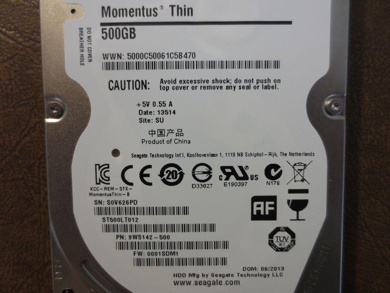 Seagate St500lt012 9ws142 500 Fw 0001sdm1 Su 500gb Sata Effective Electronics Seagate Computer Repair Hard Disk Drive