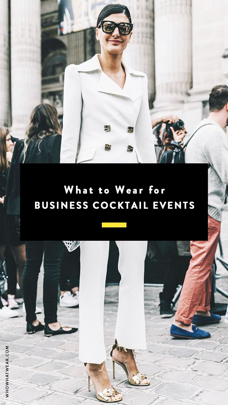 Business Cocktail Attire That's Anything But Boring