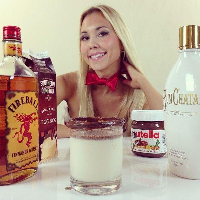 Nutella Fireball Christmas 1 Oz. (30ml) Fireball Whisky 1