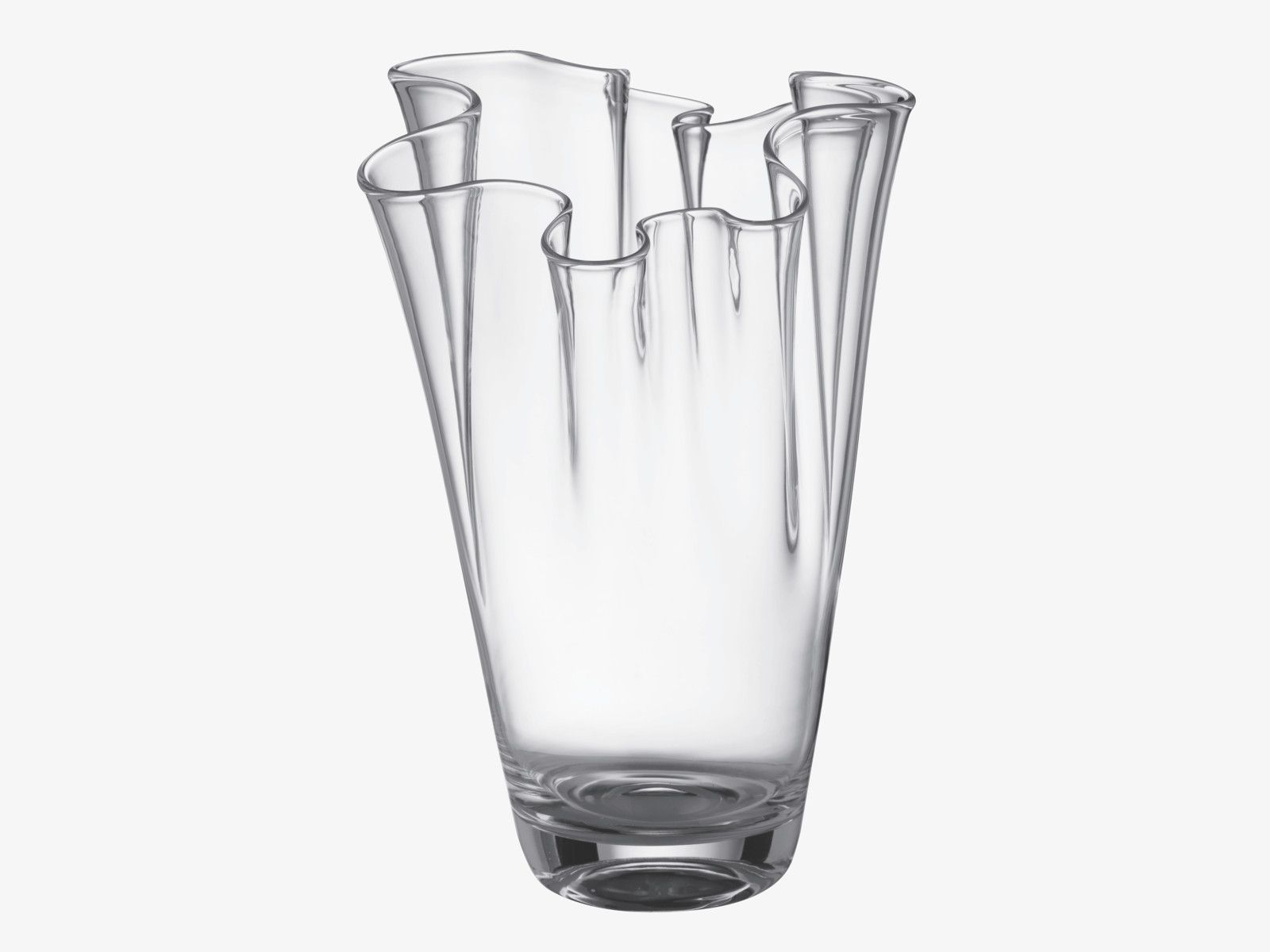 free garden today shipping manarola home vase glass product tall clear overstock