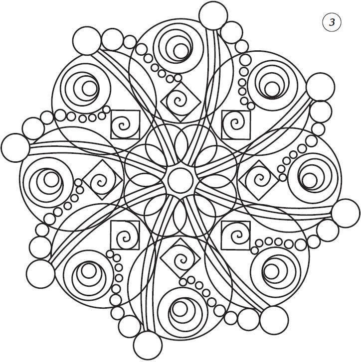 Мандалы. Магические рисунки для счастья, любви, удачи - _18.jpg