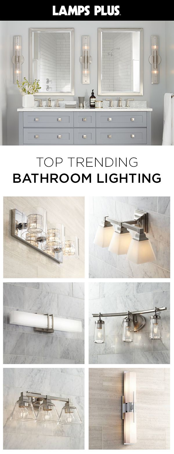Photo of Shop best-sellers and favorite style bathroom lighting styles. We have everythin…