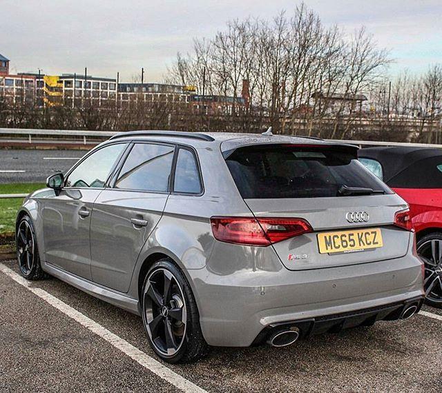 Audi Rs3 Sportback Nardo Grey Car Love Audi Sportback Audi A3