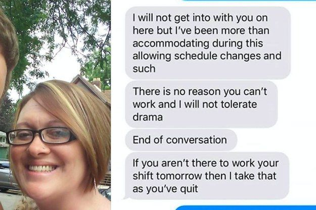 How To Call Out Of Work A Manager Shamed This Mom For Calling Out Of Work Because Her Son Is .