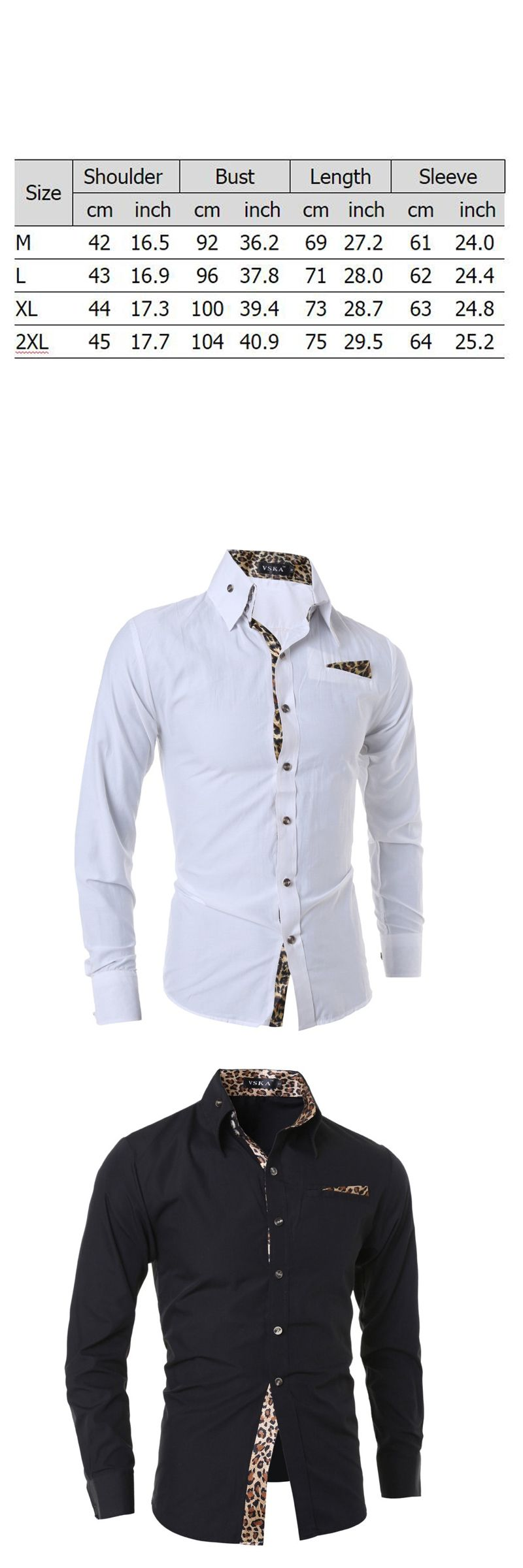 2f654c6e0bd Leopard Print Men s Long Sleeve Shirt Cotton Causal Classic Stand Collar  Slim Brand High Quality Camisa