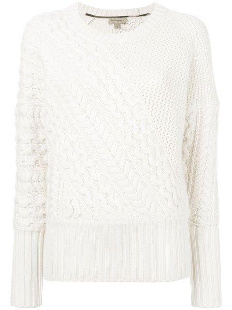 20962477412e48 BURBERRY . #burberry #cloth #jumper   Burberry   Cable knit jumper ...