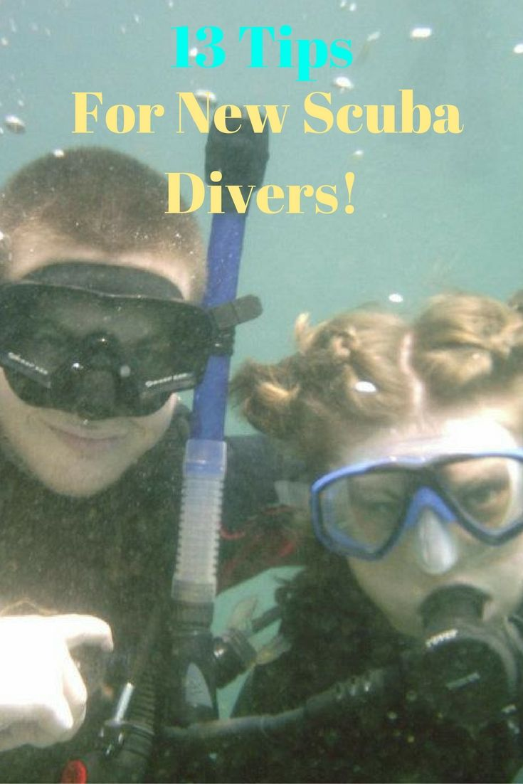 13 Tips For New Scuba Divers Scuba Diver Scuba Diving Scuba