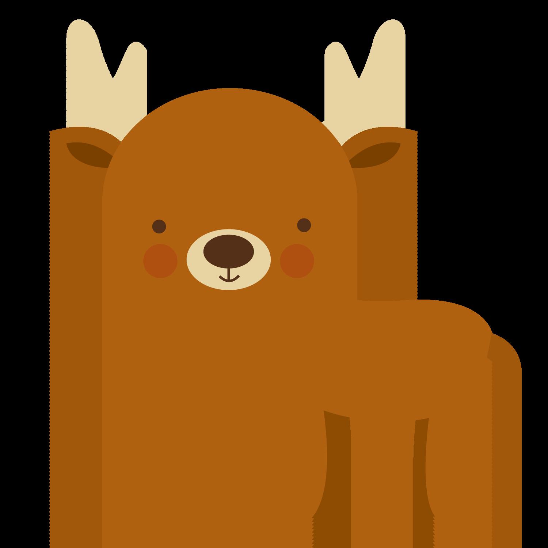 Floresta E Safari 3 Deer Png Minus Safari Animais Bonecas
