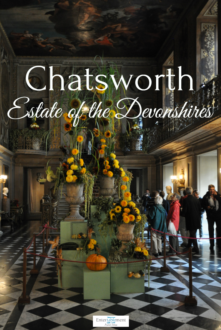 Chatsworth, Derbyshire, home to the Duke and Duchess of Devonshire ...