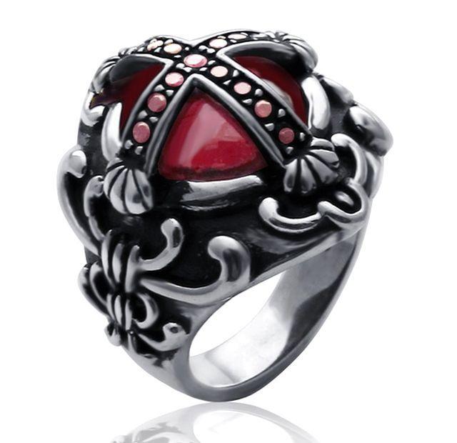2 gothic ring for mens Alternative fashion Pinterest Gothic
