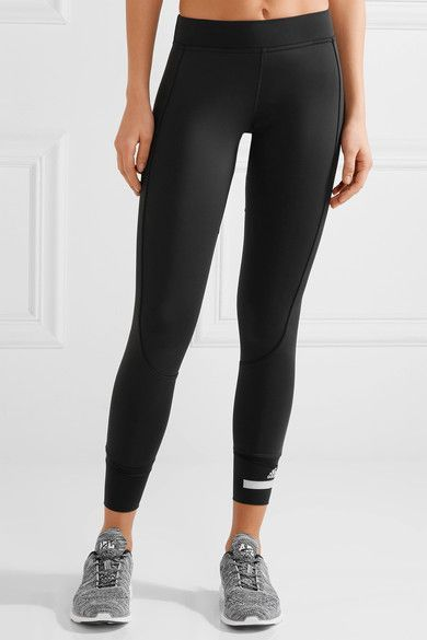 best website 799e0 b8765 Adidas by Stella McCartney - 7 8 Tight Climalite Stretch Leggings - Black -  medium
