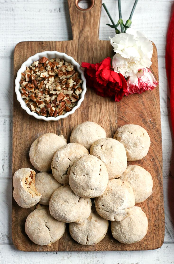 Paleo Mexican Wedding Cookies Recipe in 2020 Paleo