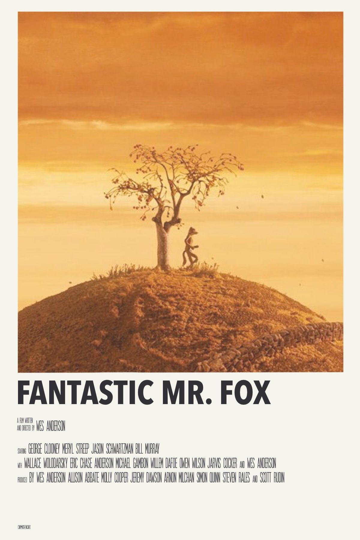 Fantastic Mr Fox In 2020 Movie Poster Wall Film Posters Minimalist Movie Posters Minimalist