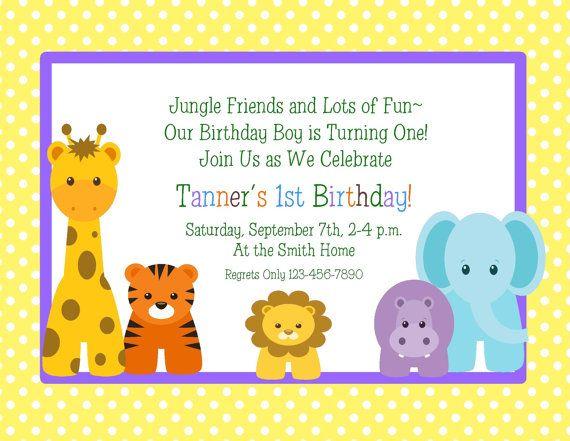 Pin On Jungle Birthday