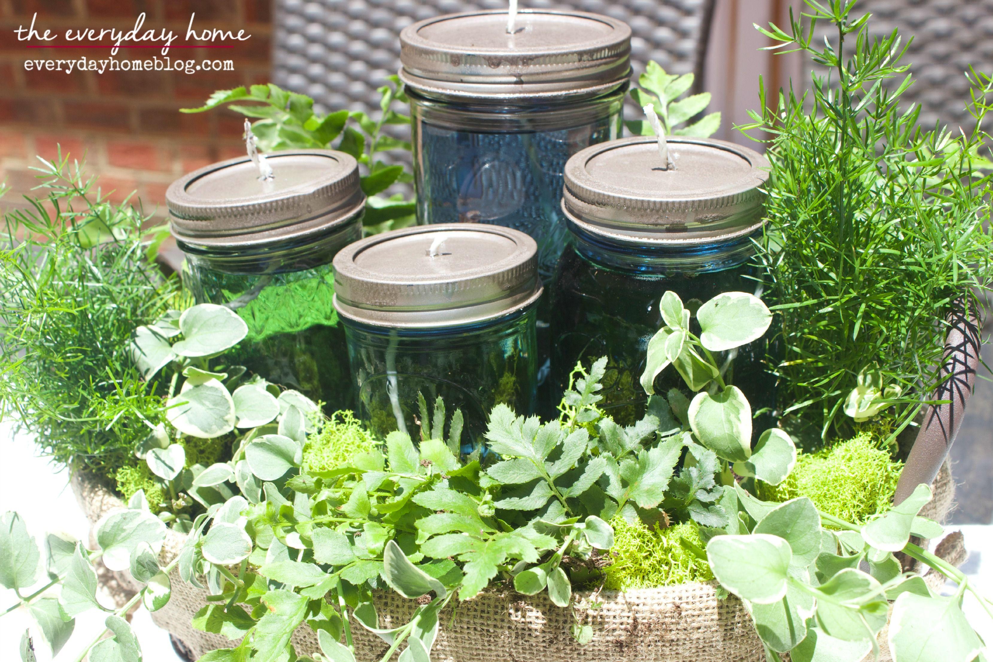 DIY Citronella Mason Jar Candles The Everyday