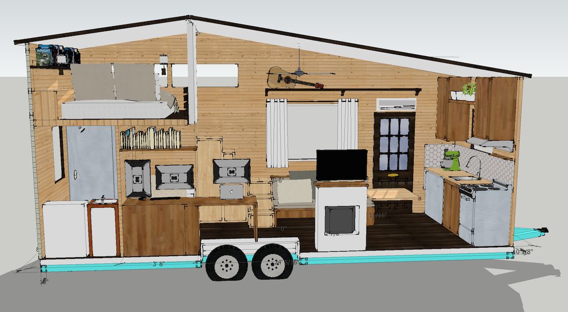 1st pass Top Studio Photos Pinterest Tiny houses and Small living