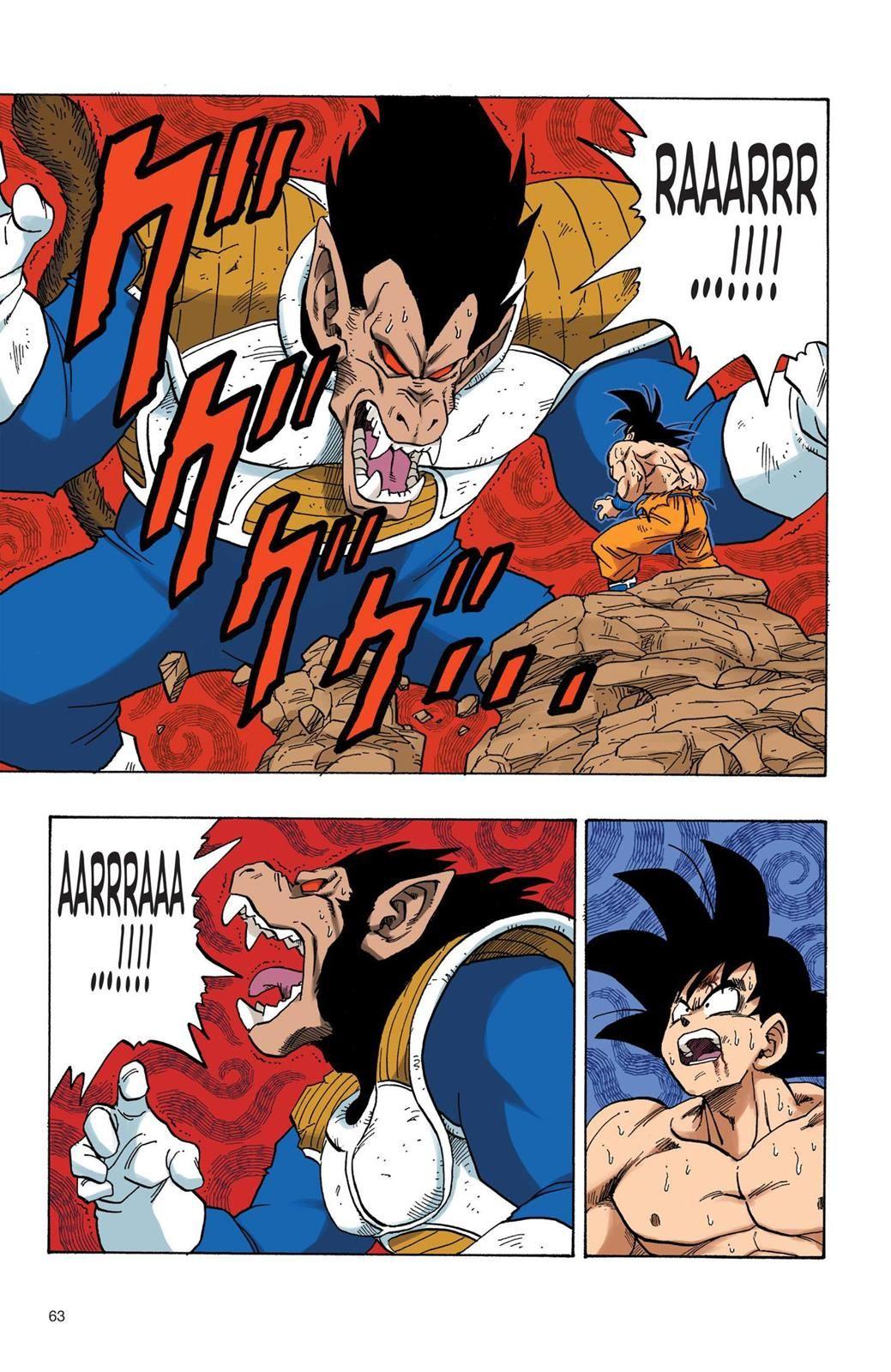 Dragon Ball Full Color - Saiyan Arc Chapter 39 Page 4 ...